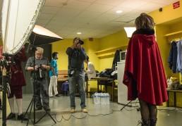 Les photographes du club photo IUT Vannes en action