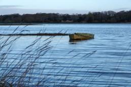 Barque sur la rivière du Bono