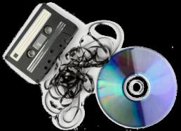 Cassette et CDpour sauvegardes