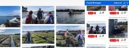 Capture d'écran téléchargement images