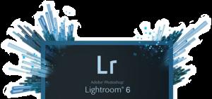 Écran de démarrage Lightroom 6